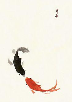 Koi vs Koi by ~blackcat on deviantART