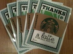 Thanks A Latte: Awesome free printable. Made 20 for speaker gifts for my non-profit association. Great tip have printed at Costco 5x7- no trimming!