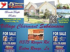 www.agent225.com  #houses for sale in baton rouge