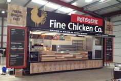 Fine Chicken Catering Trailer