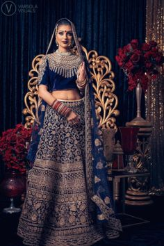"""Fashion is what you buy and style is what you do with it"" Here's another stunning image captured @pinkorchidstudio latest photoshoot! ✨The gorgeous model @Kirtisingh_ is dressed in a breathtaking #Wellgroomedinc designed lehenga for the shoot! We had the pleasure of working with some of the industries finest on this shoot! ✨ ___________________________  Please email sales@wellgroomed.ca for details!"