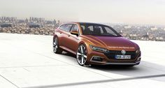 Volkswagen CC Shooting Brake may look like this image