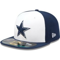Men s New Era Dallas Cowboys On Field 59FIFTY  Football Structured Fitted  Hat by New Era 68371af99