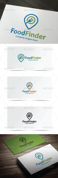 Food Finder — Vector EPS #diner #service • Available here → https://graphicriver.net/item/food-finder/7401562?ref=pxcr