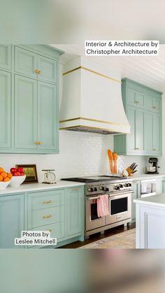 Teal Kitchen Cabinets, Aqua Kitchen, Kitchen Cabinet Colors, Painting Kitchen Cabinets, Kitchen Paint, Kitchen Colors, Home Decor Kitchen, Dark Cabinets, Blue Kitchen Ideas