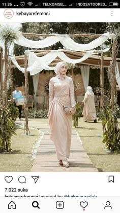trendy dress brokat lace bridesmaid Source by brokat Hijab Prom Dress, Hijab Gown, Kebaya Hijab, Muslimah Wedding Dress, Hijab Evening Dress, Hijab Style Dress, Kebaya Dress, Dress Outfits, Casual Hijab Outfit