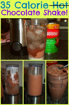 35 Calorie Chocolate Shake!