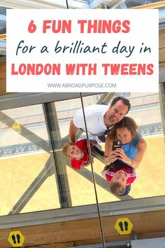 6 Fun Things To Do In London With Tweens (Not Their 1st Time) - aBroad purpose Kids Things To Do, Things To Do In London, Fun Things, Uk Bucket List, London Neighborhoods, Best Afternoon Tea, London With Kids, London Market, London Theatre