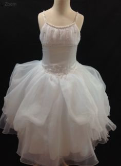 In stock at BocelliBoutique.com Designer #CHRISTIEHELENE #FIRSTCOMMUNION dress - Style #P1297