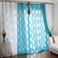 $75.99 Worldwide Freeshipping Select Linen and Polyester Two Colors Splice Curtain/Sheer(White and Blue) on http://www.paccony.com/product/Select-Linen-and-Polyster-Two-Colors-Splice-Curtain-Sheer-White-and-Blue-19768.html#