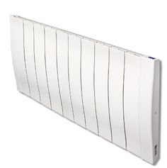 Haverland Designer RC Wave RC11W 1700 Watt Slimline Energy Efficient Electric Radiators Wall Mounted with Timer and High Precision Thermostat - Electric Heaters