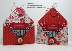 Candy holder envelope