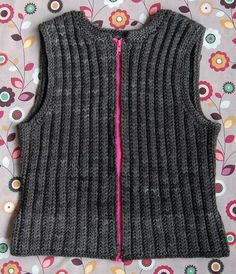 Autumn Equinox Vest. (Conquer zipper fears with our new Zipper Tutorial!) I think vests are an autumn staple, and, for me, a pure knitting pleasure.  ATTENTON-uses 500yds.