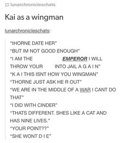 lol Cresswell and Kaider are amazing 😂😂😂😍😍😍 Ya Books, Good Books, Teen Books, Marissa Meyer Books, This Is A Book, Wordpress, Book Memes, Cinder, Book Fandoms