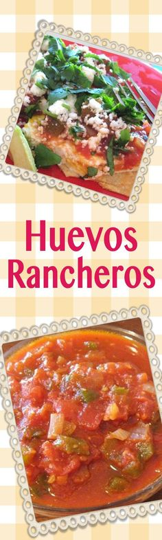 Huevos Rancheros - Mmmm...eggs the way you like them, on tortillas, with spicy Ranchero sauce and cotija cheese. | delishable.net