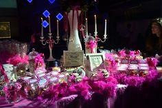 Allestimento tavolo caramellata per feste private