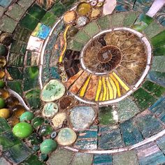 Mosaic art inspired