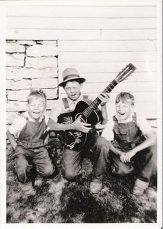 Brown boys of Vevay,IN 1940's
