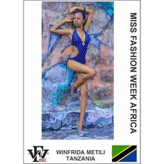 Here is a swimwear submission for the Miss Fashion Week Africa contest by Winfrida Metili from #Tanzania  If you are yet to complete your profile you still have to the 28th to do so. However please take note of the below submissions that you need to make in order to avoid delays : 1. Two (2) Head-shot Photos (Front and Side View) 2. Two (2) Full-Length Photos (Front and Side View) 3. One (1) Swimwear photos 4. Scanned copy of valid international passport 5. Interview Video that is not more…