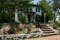 """The Hanby House Museum. Owned by William Hanby, this location was a """"station"""" on the Underground Railroad"""