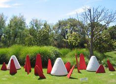 Installation Parc Phenix Nice #JeanLouisCHARPENTIER © Land Art, Nice, Nice France