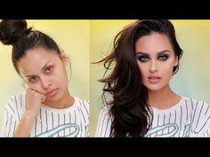 Full Coverage Drugstore Makeup Tutorial - YouTube