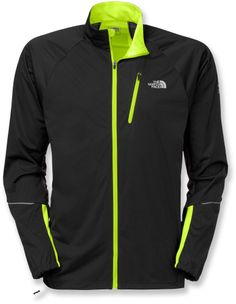 For cool-morning workouts don the Men's The North Face Apex Lite Jacket.
