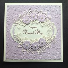 On Your Special Day Wedding Day Cards, Wedding Anniversary Cards, Diamond Anniversary, Handmade Birthday Cards, Happy Birthday Cards, Greeting Cards Handmade, Pretty Cards, Cute Cards, Diy Cards