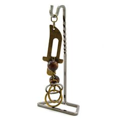 Can you remove the ring? This forged metal blacksmith puzzle with display stand is sure to leave you in a quandary £5.99