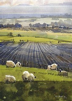 Art blog, focused on paintings and hand drawings, as well as a window to my own art #LandscapePaintings