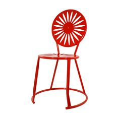 Relax in an authentic Terrace chair 365 days a year – even if you've moved from Madison! Available inBadger Red.