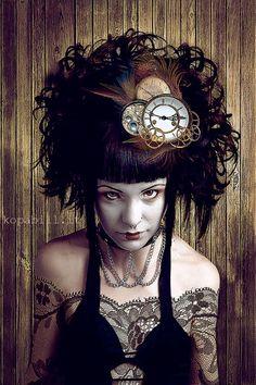 oh look at the hair :) #photos #steampunk