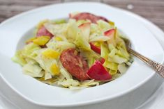 cabbage, apples &  leeks | Simple Bites -- And a slew of other ways to prepare cabbage.