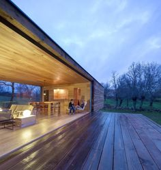 B House in Berrocal, Segovia, Spain designed by ch+qs arquitectos.