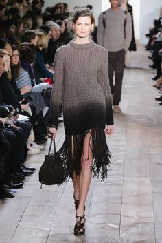 Fall fashion trends - Fringe:Michael Kors Fall/Winter 2014 via @stylelist | http://aol.it/1eWB7ic