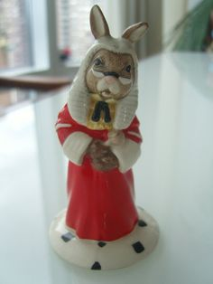 Royal Doulton Bunnykins Judge Figurine