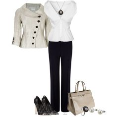 """Oyster"" by christa72 on Polyvore"