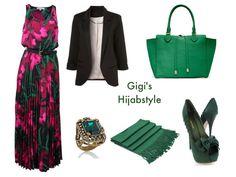 Hijab styles Modest Fashion, Hijab Fashion, Fashion Outfits, Womens Fashion, Fasion, Hijab Dress, Hijab Outfit, Maxi Dresses, Street Outfit