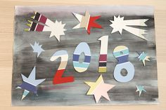 Uuden vuoden räiskettä luokkaan / Craft project for New Year