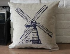 Eco-friendly Pillow Case Made of High Quality Neutral Soft Cotton Linen Fabric,Best Gift Choice. $17.00, via Etsy.