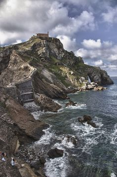 Gaztelugatxe, the Basque Country, by Endika Montejo, via Bilbao, Basque Country, Homeland, North West, Landscape, Invite, Water, Portugal, Photography