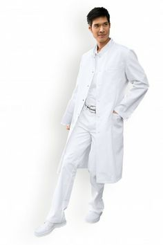 Blouse médicale Clinic, Sewing Projects, Coat, Jackets, Dresses, Fashion, Long Blouse, Long Dress Patterns, Mantle