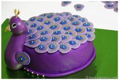 Peacock cake girly cake dessert peacock birthday cakes birthday cake ideas birthday cakes for girls girls birthday cake Pretty Cakes, Cute Cakes, Beautiful Cakes, Amazing Cakes, Diy Birthday Cake, Happy Birthday Cakes, Purple Birthday, 11th Birthday, Birthday Ideas