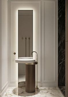 Bedroom Wall Designs, Diy Bedroom Decor, Home Room Design, Interior Design Living Room, Restroom Design, Apartment Projects, House Front Design, Toilet Design, Bathroom Design Luxury