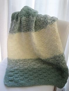 This simple basket weave baby blanket a perfect gift for an expecting mom. It's soft and washable making it easy to keep clean. For this ...