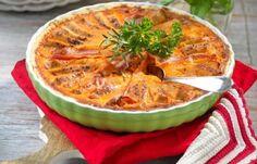 Kycklingpaj med ajvar och bacon recept
