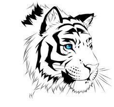 тигр рисунок графика - Поиск в Google