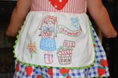 Strawberry embroidery could buy this pattern at alittlesweetness.