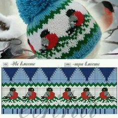 Bilderesultat for luemønster Knitting Charts, Knitting Socks, Knitting Stitches, Baby Knitting, Knitted Hats, Christmas Knitting Patterns, Crochet Patterns, Tricot D'art, Knit Crochet