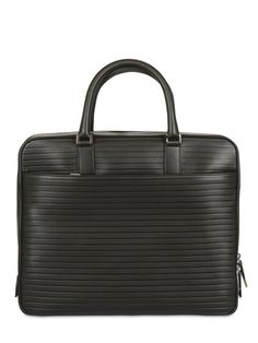 DIOR HOMME - CALFSKIN BRIEFCASE BAG - LUISAVIAROMA - LUXURY SHOPPING WORLDWIDE SHIPPING - FLORENCE